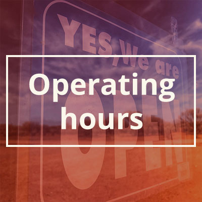 Operating Hours for ENHM