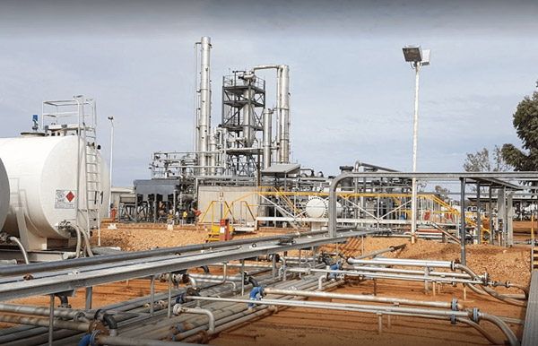 ROI Refinery in Eromanga