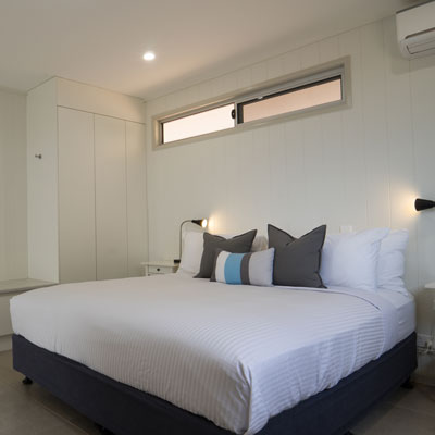 ENHM Accommodation Outback Studio Bedroom