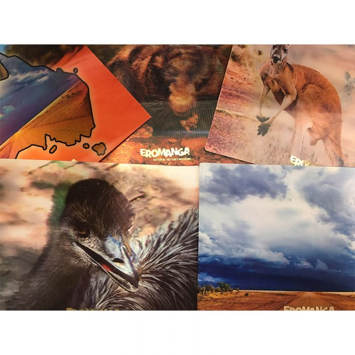 3D Australian Wildlife Cards
