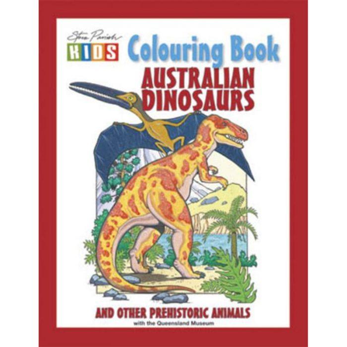 Australian Dinosaur Colouring Book