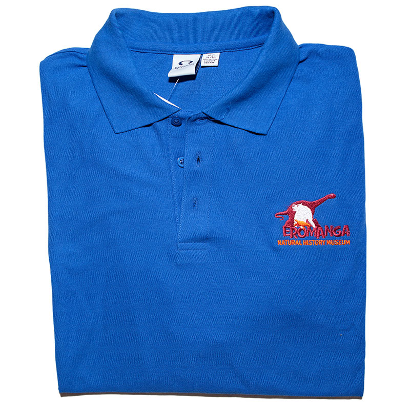 Mens polo - blue