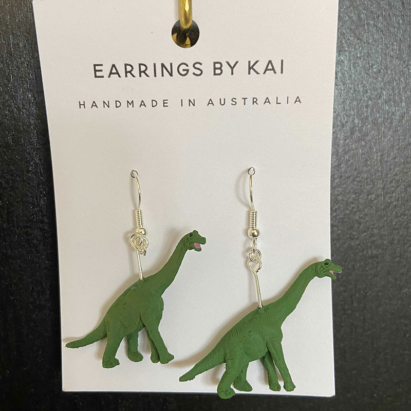 Sauropod Earrings