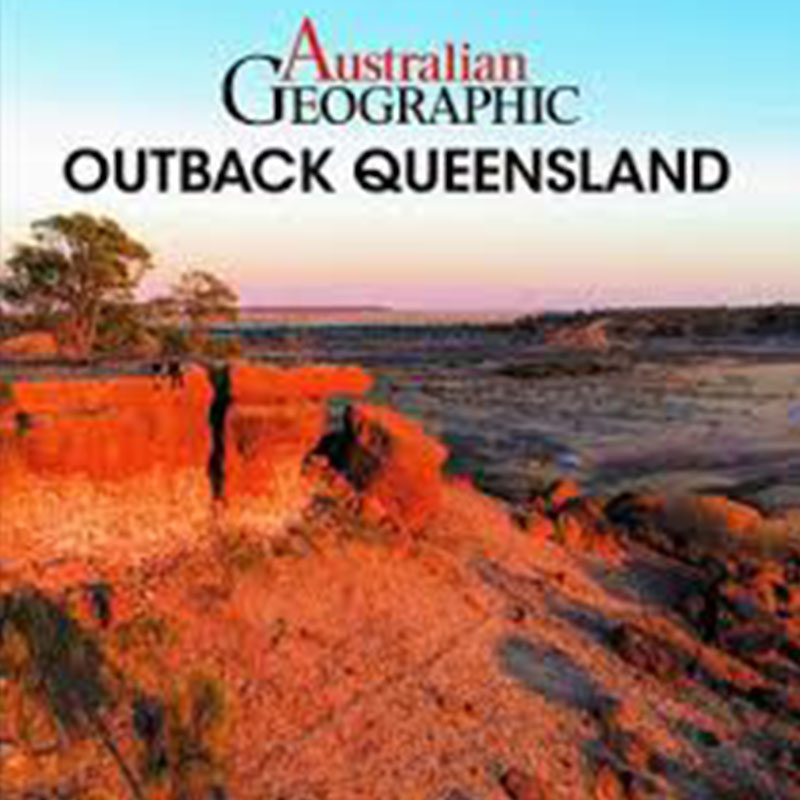 Australian geographic Outback QLD book