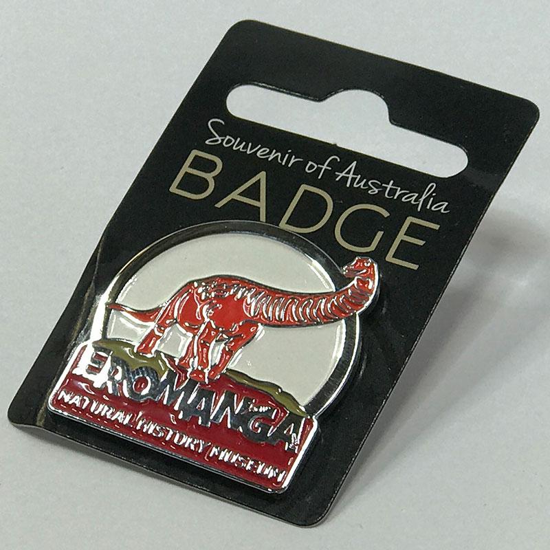 ENHM Badge Hat Pin